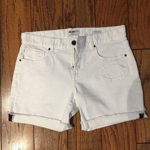 White walking shorts NWOT